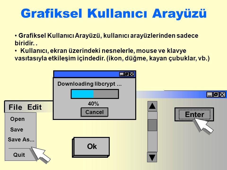 Grafiksel Kullanıcı Arayüzü