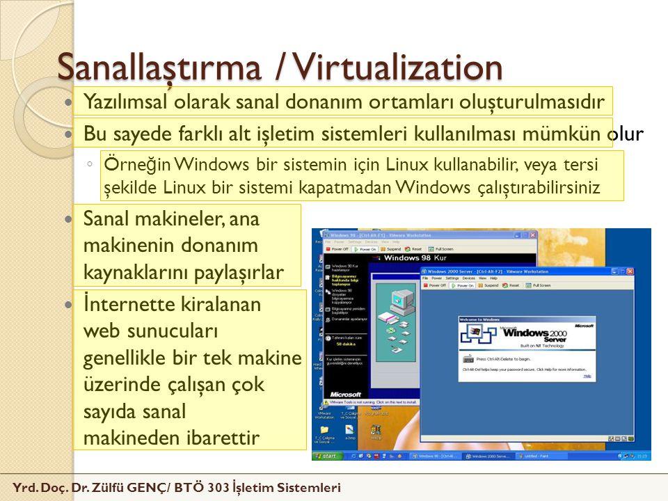 Sanallaştırma / Virtualization