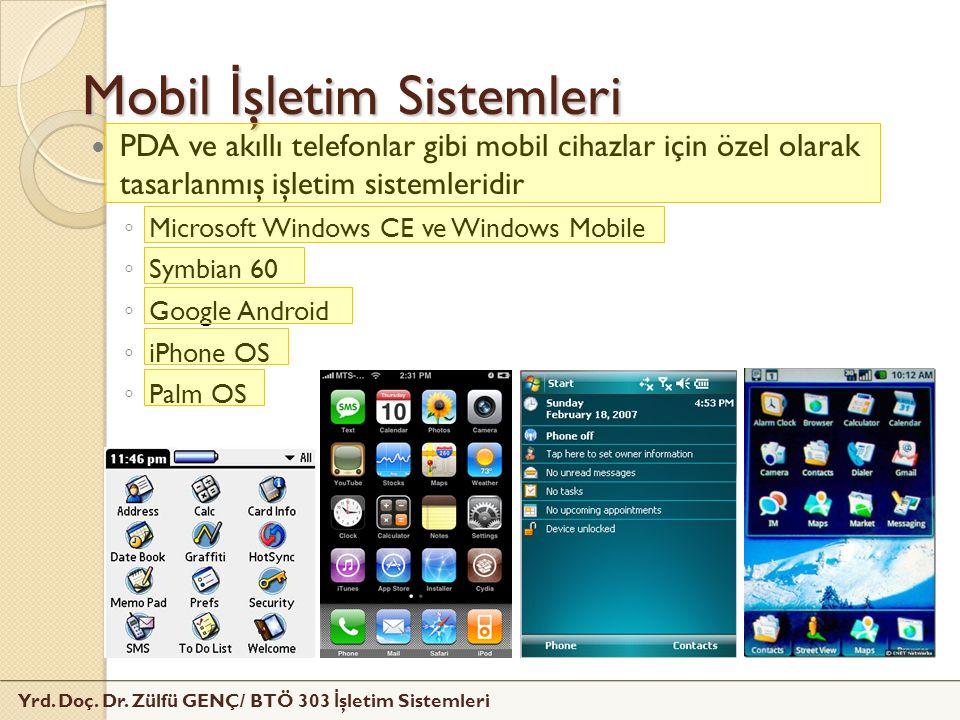 Mobil İşletim Sistemleri