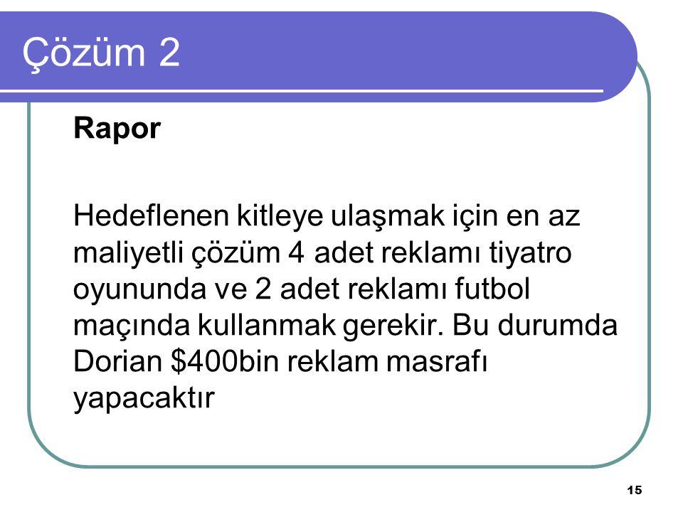 Çözüm 2 Rapor.