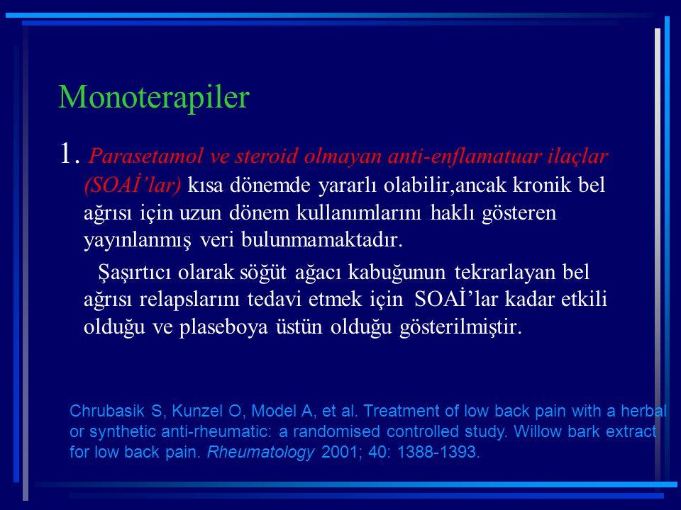 Monoterapiler