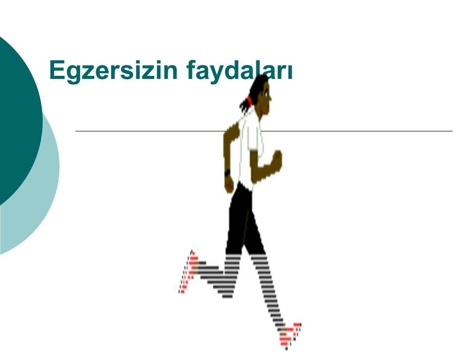 Egzersizin faydaları