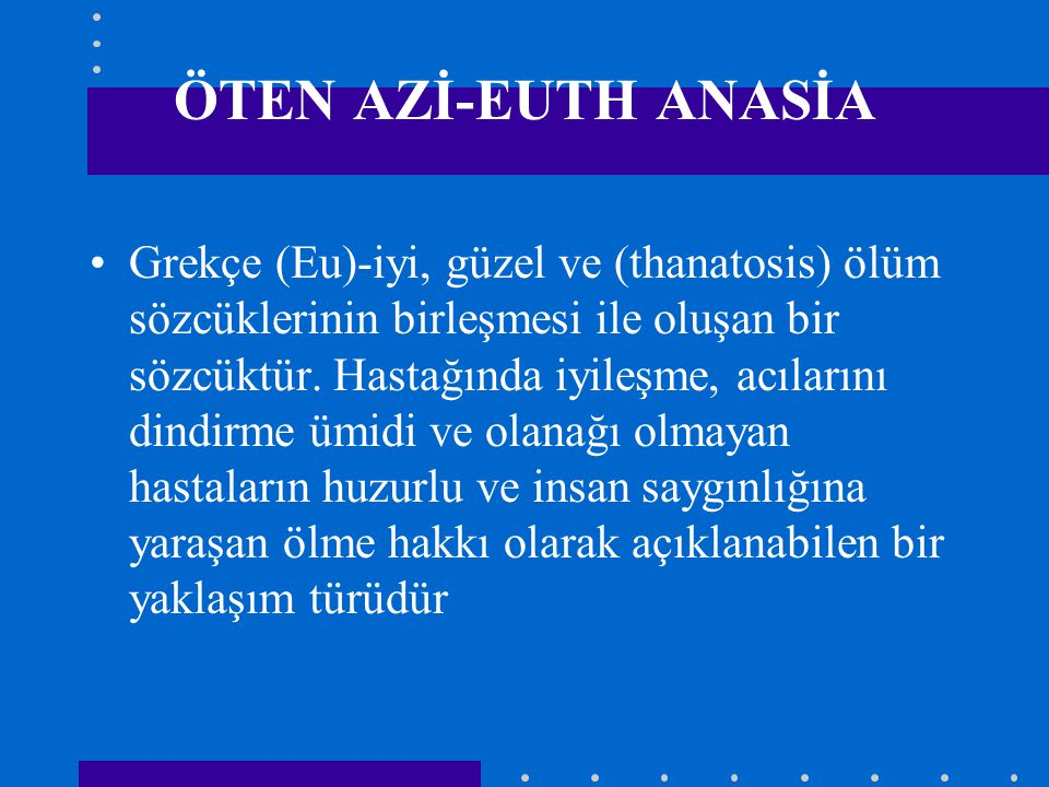 ÖTEN AZİ-EUTH ANASİA