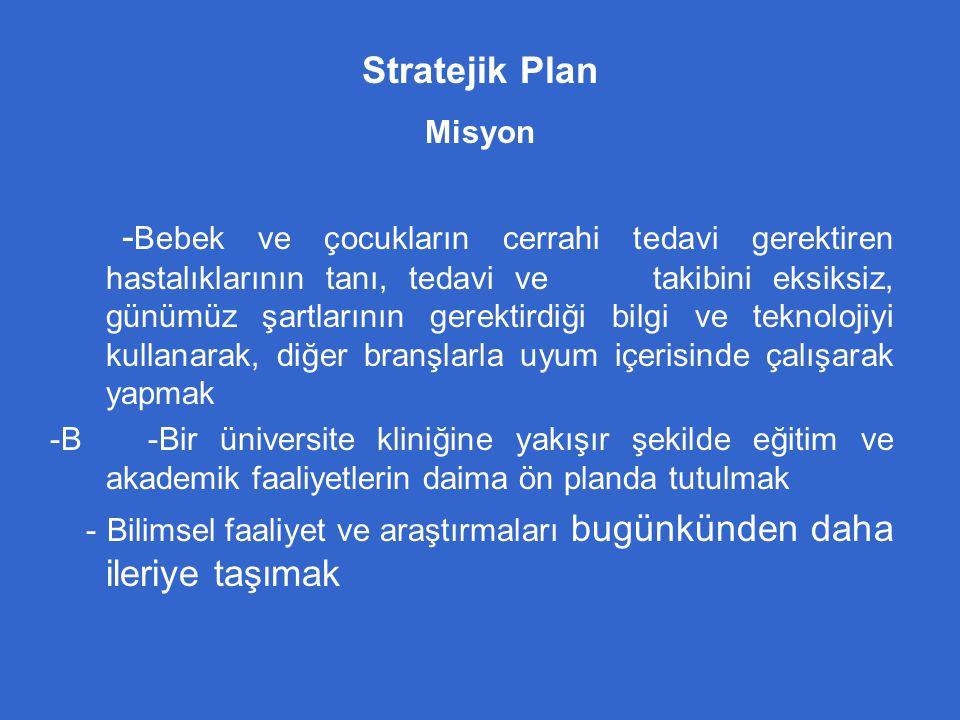 Stratejik Plan Misyon
