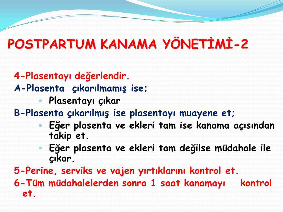 POSTPARTUM KANAMA YÖNETİMİ-2