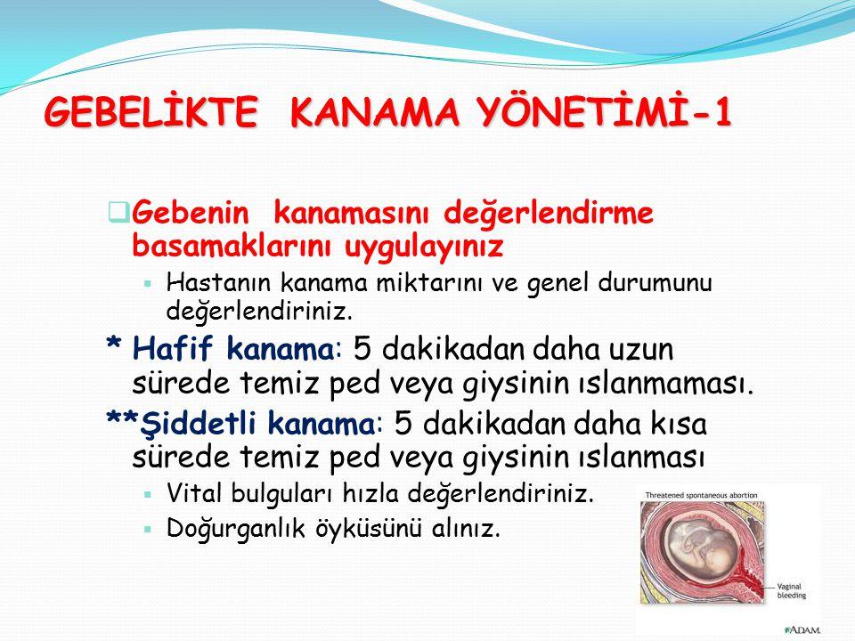 GEBELİKTE KANAMA YÖNETİMİ-1