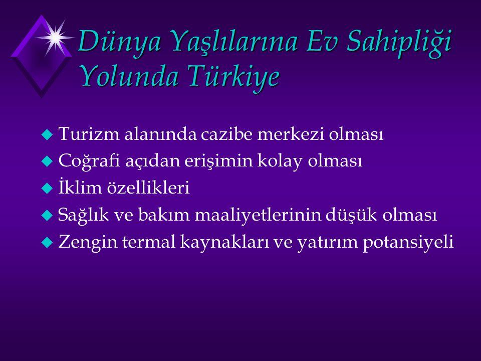 Dünya Yaşlılarına Ev Sahipliği Yolunda Türkiye
