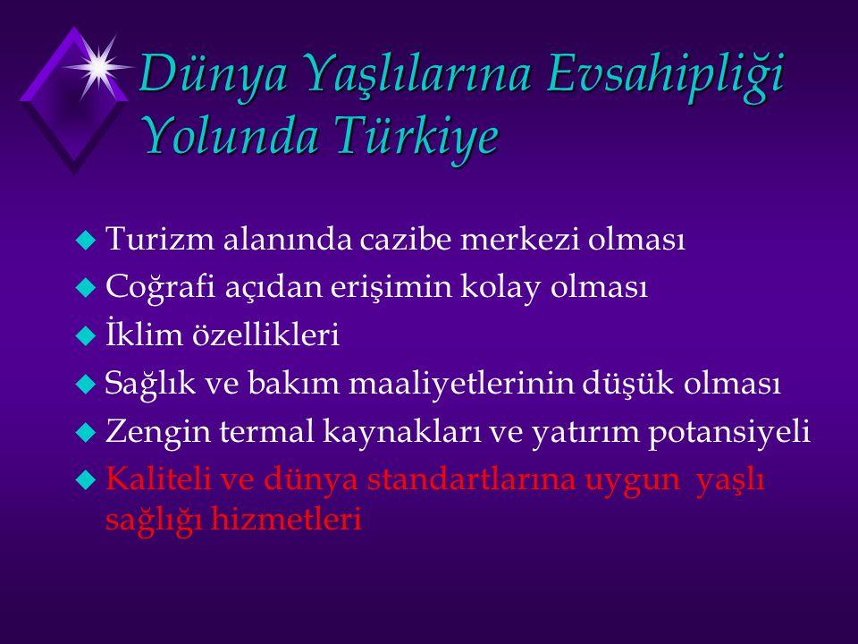 Dünya Yaşlılarına Evsahipliği Yolunda Türkiye