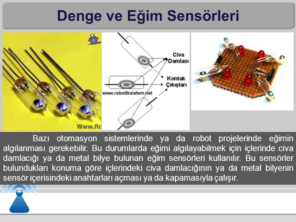 Denge ve Eğim Sensörleri