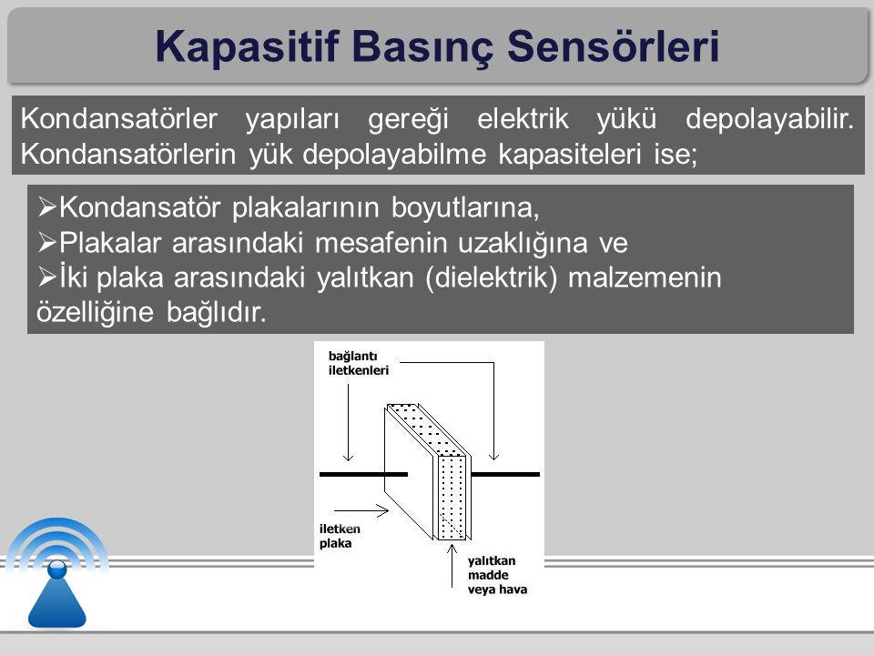 Kapasitif Basınç Sensörleri