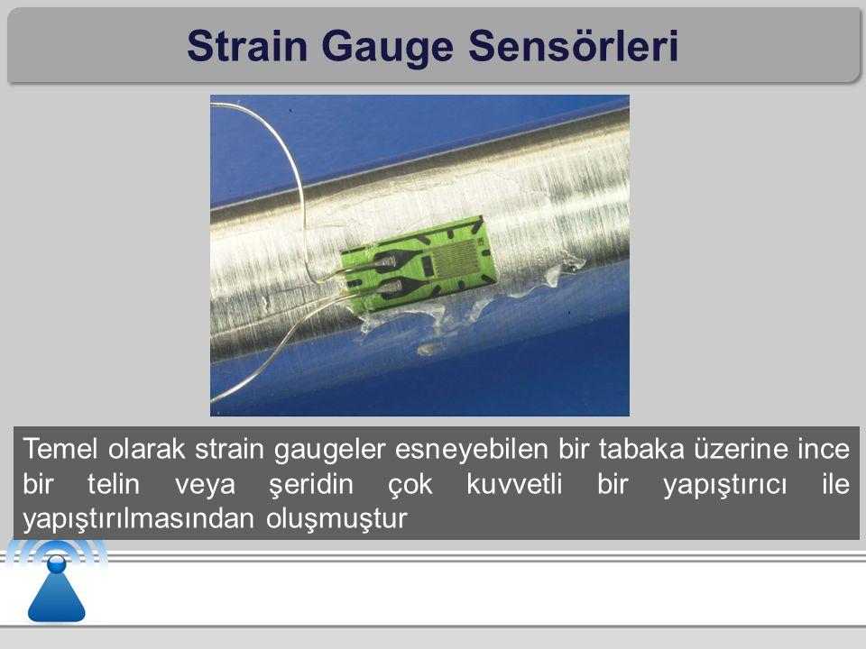 Strain Gauge Sensörleri