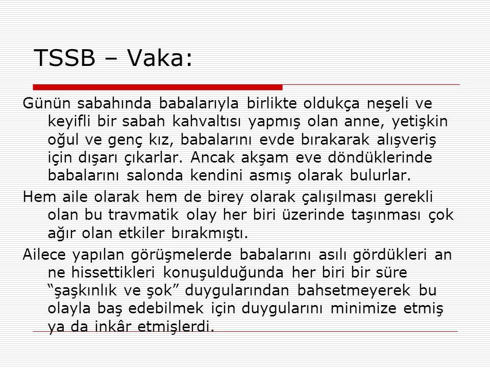 TSSB – Vaka: