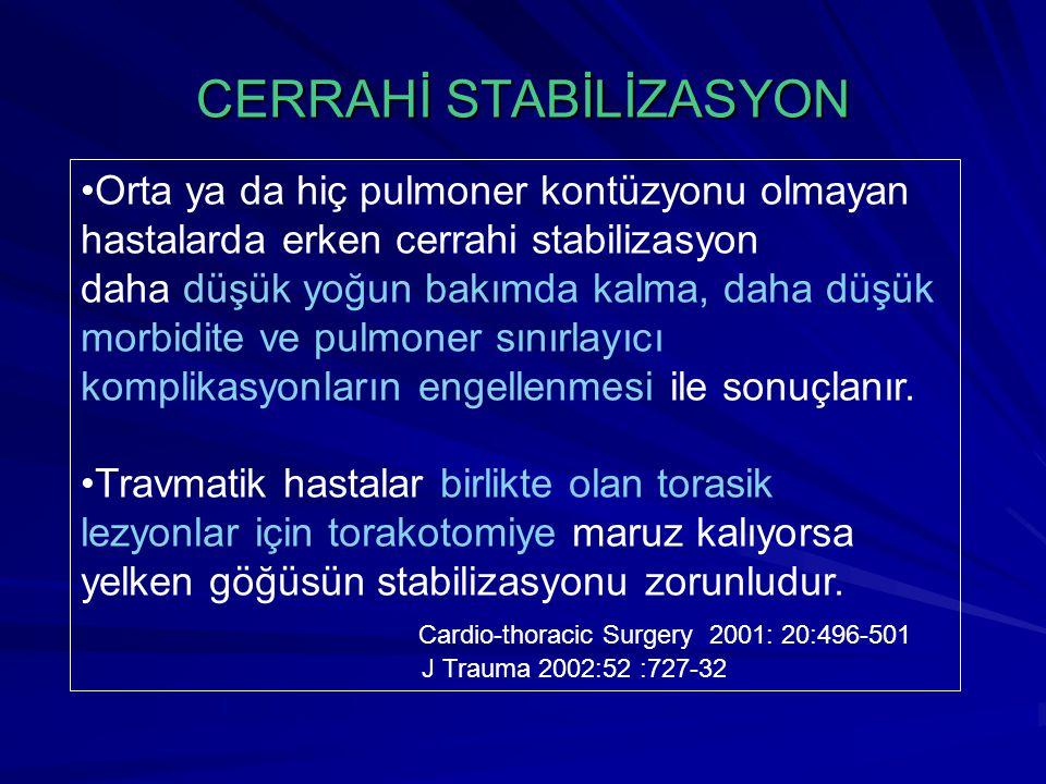 CERRAHİ STABİLİZASYON