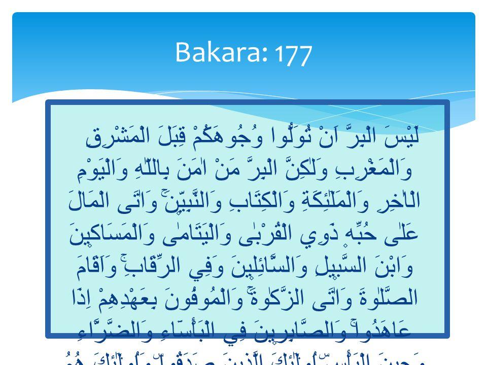 Bakara: 177