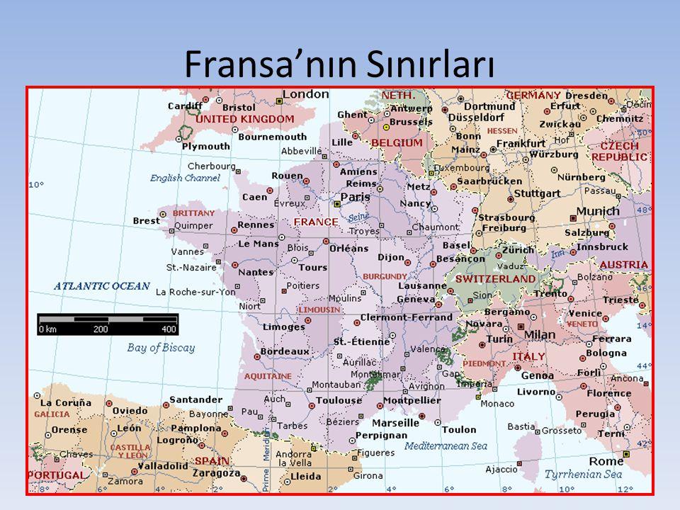 Fransa'nın Sınırları