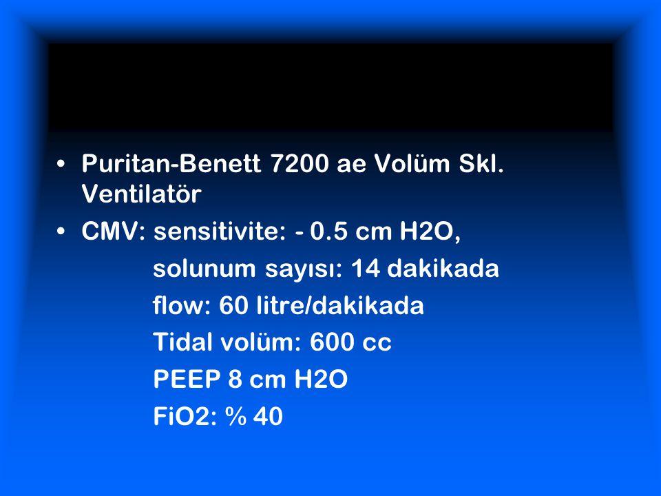 Puritan-Benett 7200 ae Volüm Skl. Ventilatör