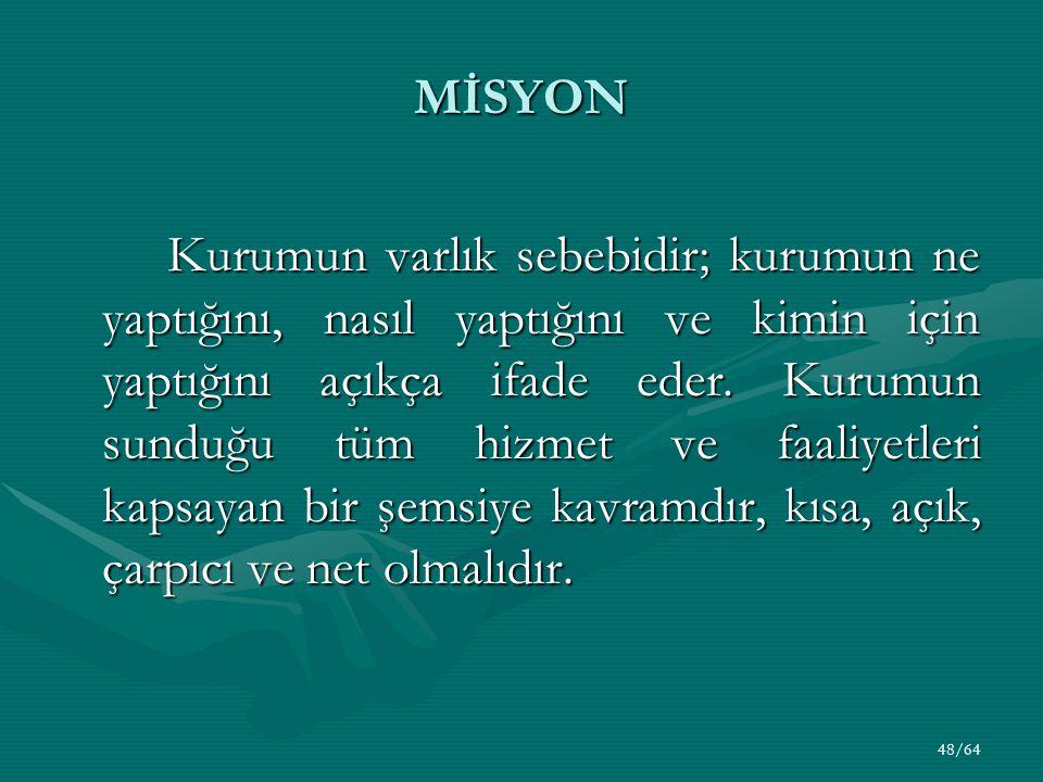 MİSYON