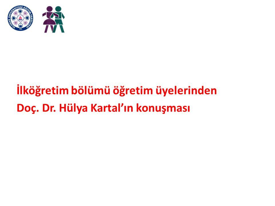 İlköğretim bölümü öğretim üyelerinden Doç. Dr