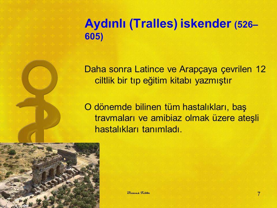 Aydınlı (Tralles) iskender (526–605)