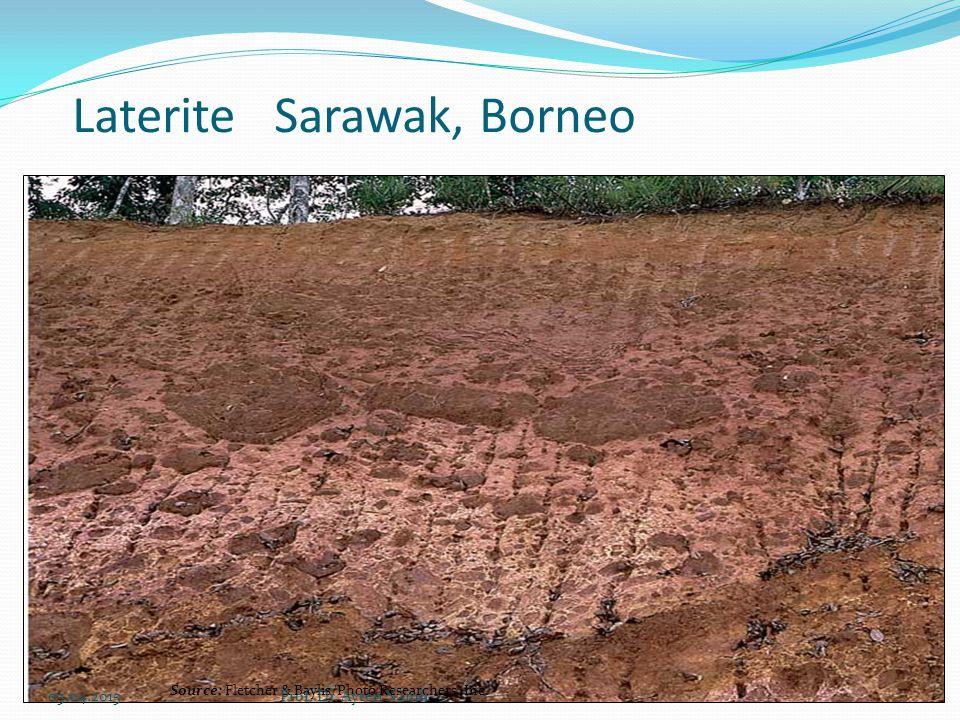 Laterite Sarawak, Borneo