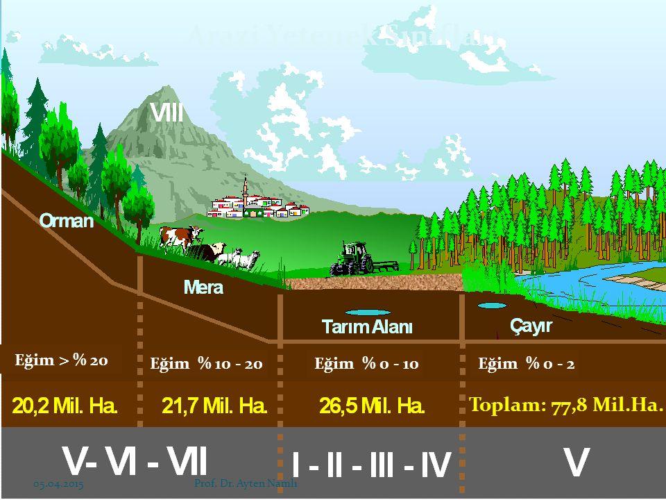 Arazi Yetenek Sınıfları