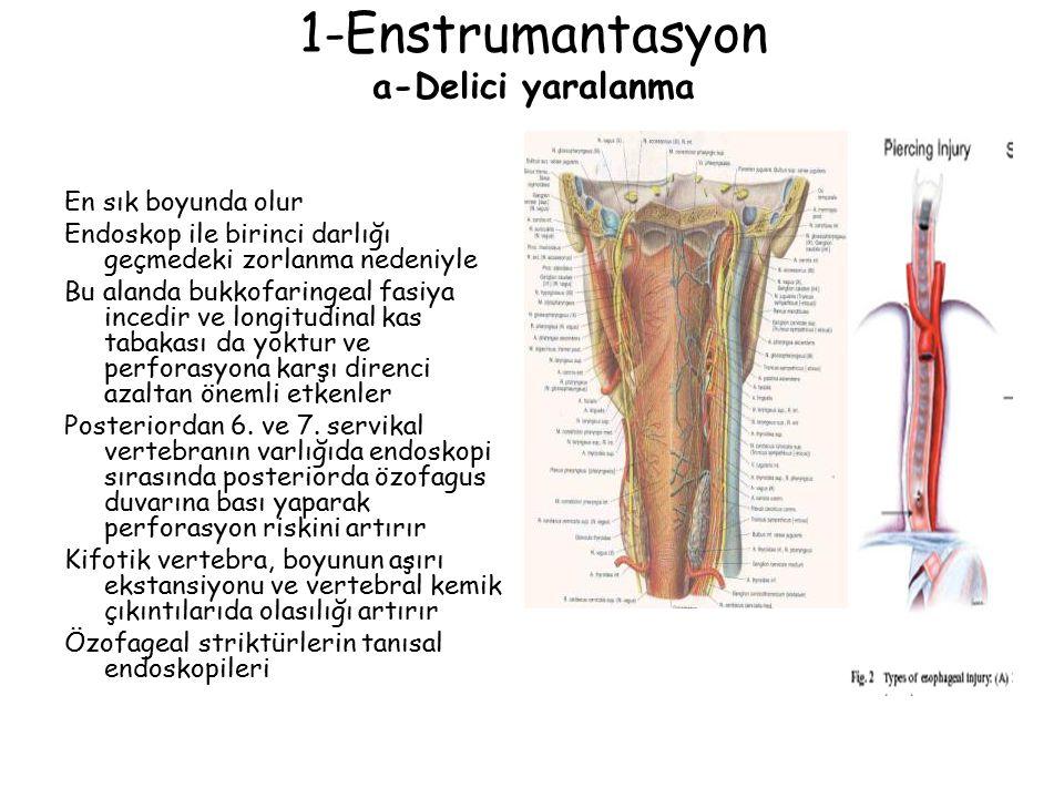 1-Enstrumantasyon a-Delici yaralanma