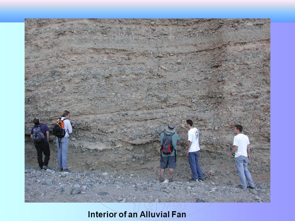 Interior of an Alluvial Fan