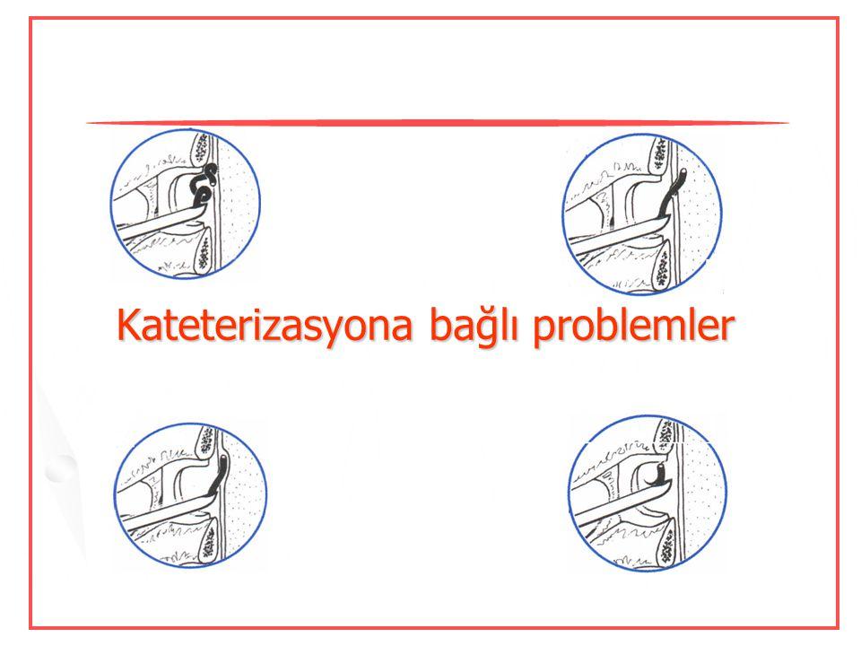 Kateterizasyona bağlı problemler