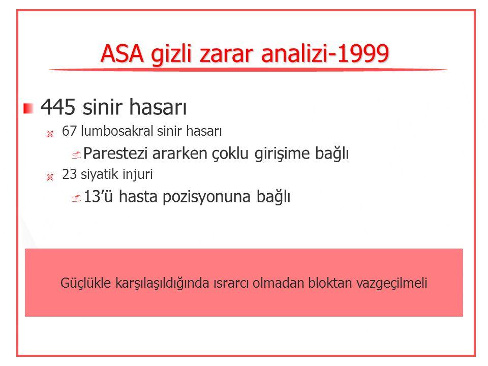 ASA gizli zarar analizi-1999
