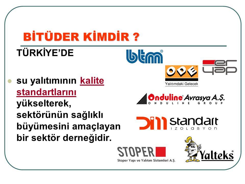 BİTÜDER KİMDİR TÜRKİYE'DE