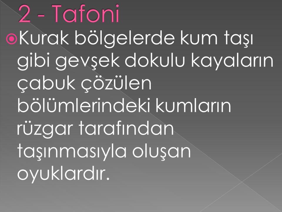 2 - Tafoni