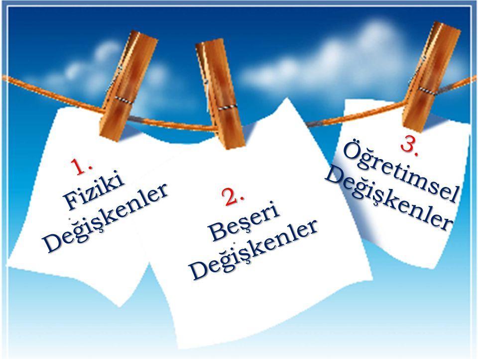 3. Öğretimsel Değişkenler
