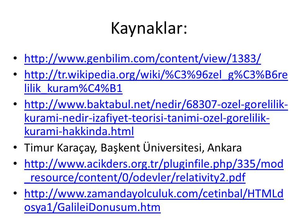 Kaynaklar: http://www.genbilim.com/content/view/1383/