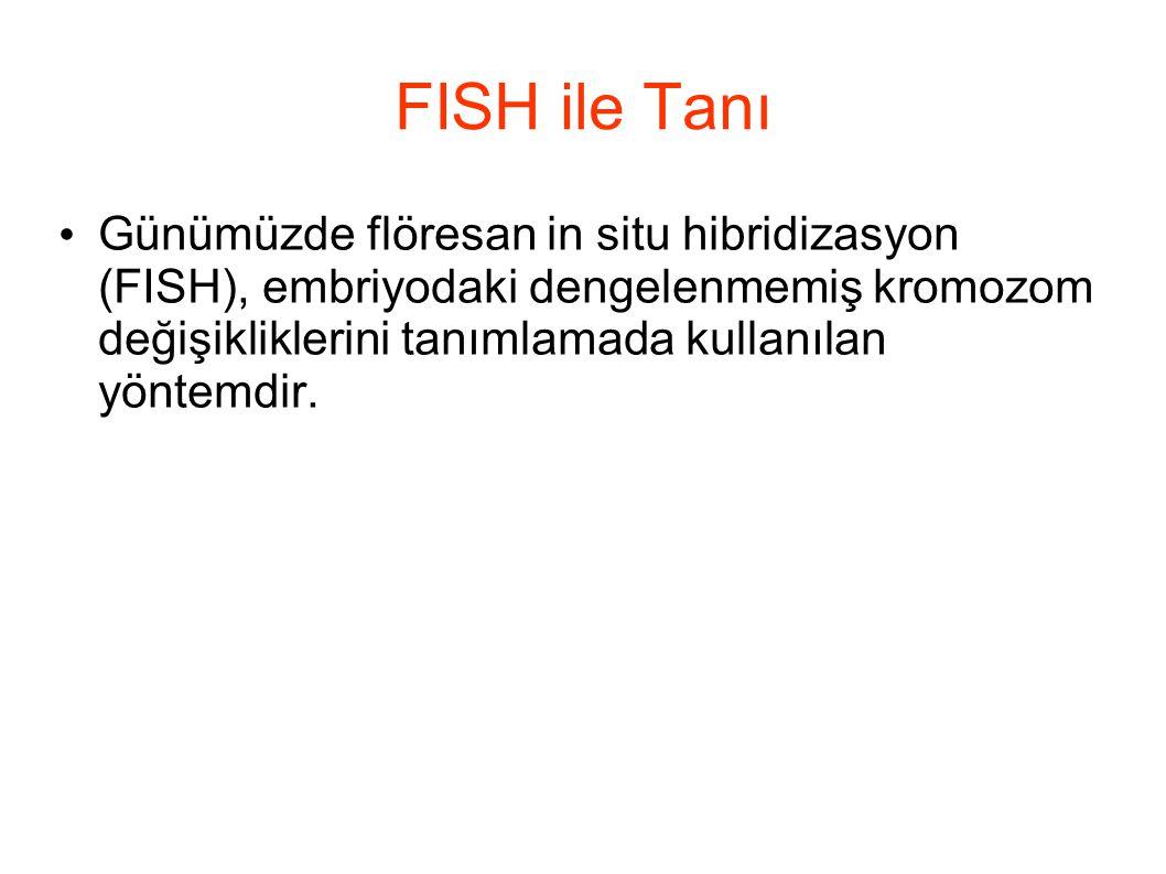 FISH ile Tanı