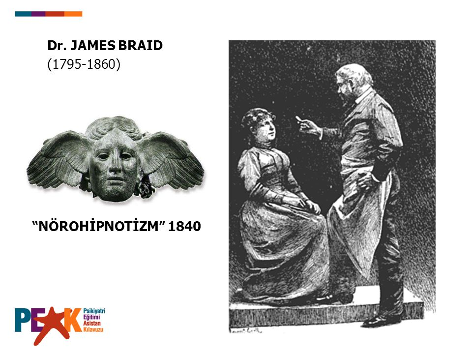 Dr. JAMES BRAID (1795-1860) NÖROHİPNOTİZM 1840