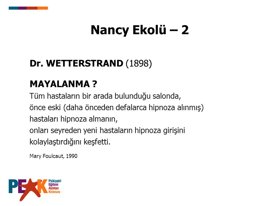 Nancy Ekolü – 2 Dr. WETTERSTRAND (1898) MAYALANMA