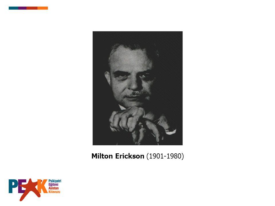 Milton Erickson (1901-1980)