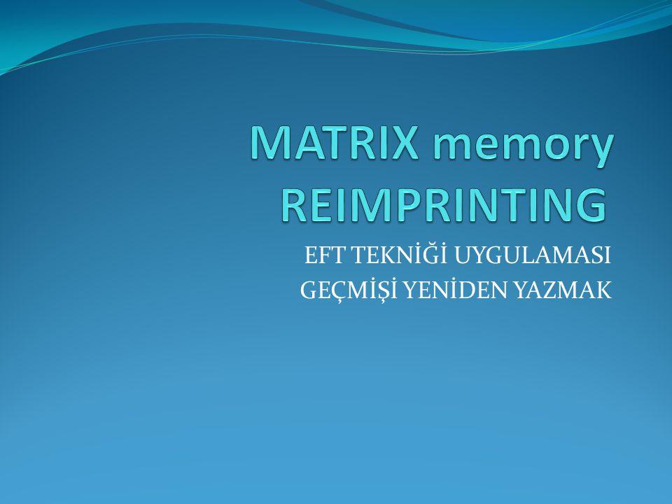MATRIX memory REIMPRINTING