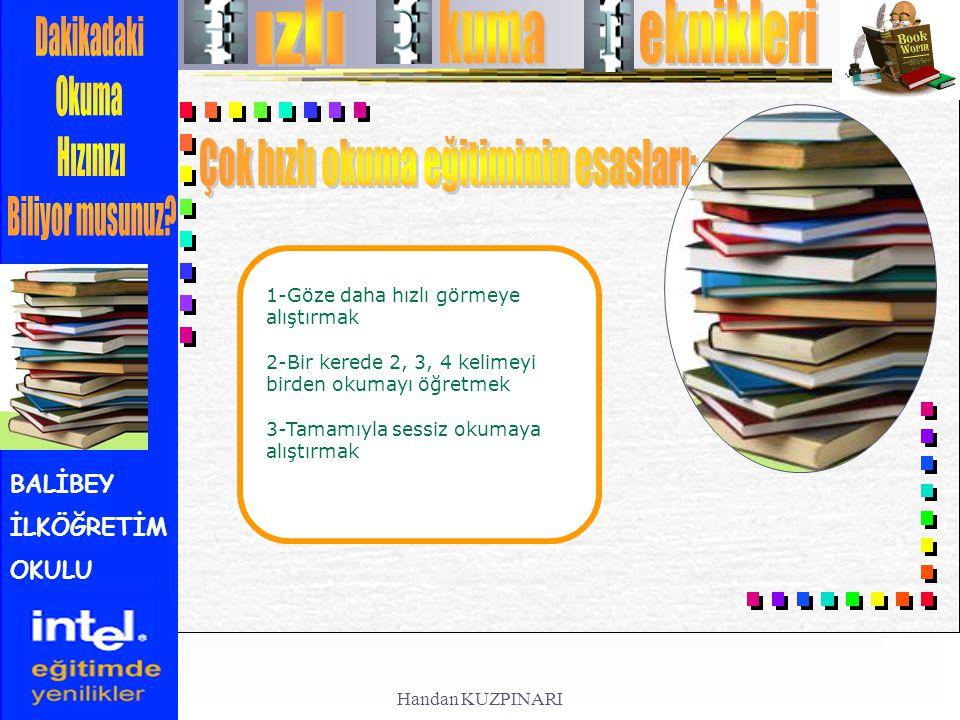 Çok hızlı okuma eğitiminin esasları: