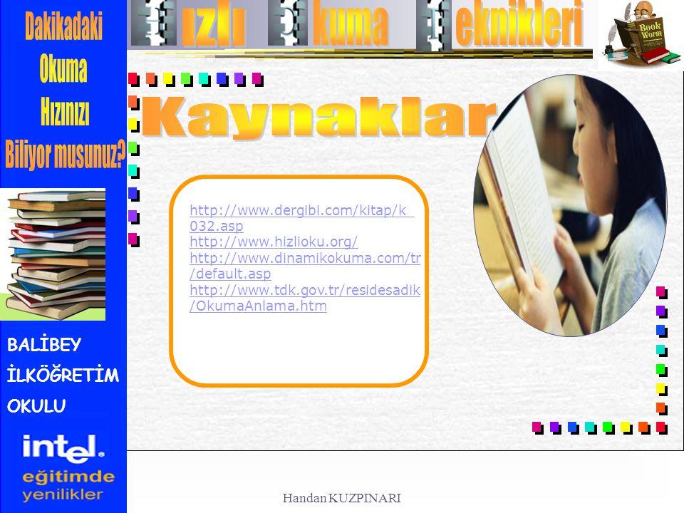 ızlı kuma eknikleri Kaynaklar http://www.dergibi.com/kitap/k_032.asp
