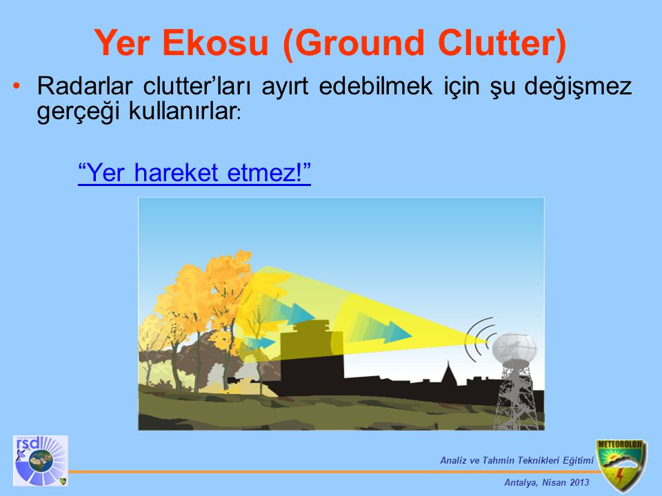 Yer Ekosu (Ground Clutter)
