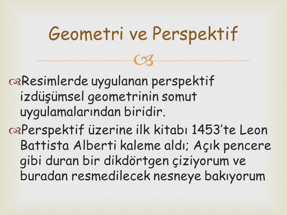 Geometri ve Perspektif