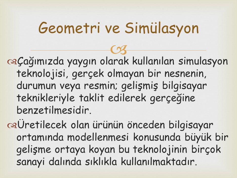 Geometri ve Simülasyon