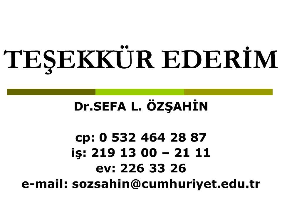 e-mail: sozsahin@cumhuriyet.edu.tr