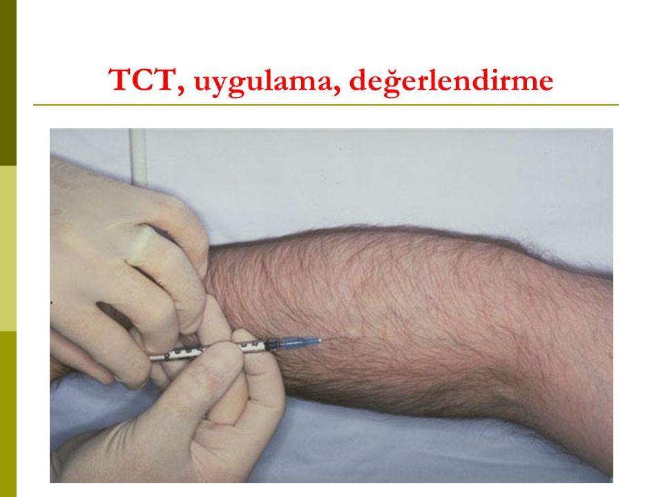 TCT, uygulama, değerlendirme