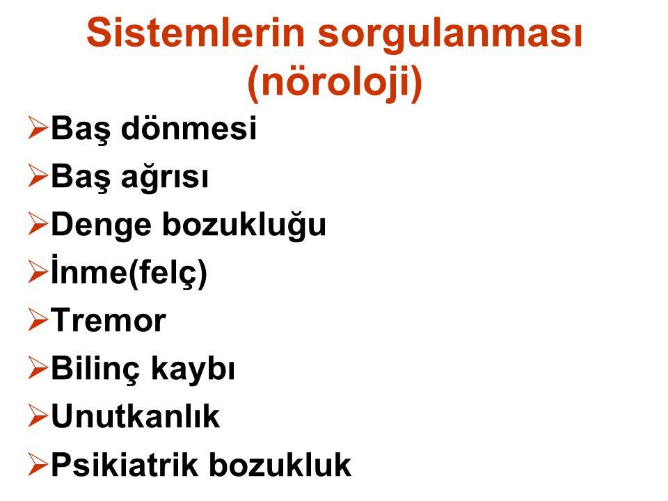 Sistemlerin sorgulanması (nöroloji)