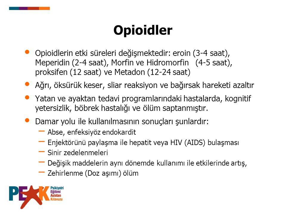 Opioidler