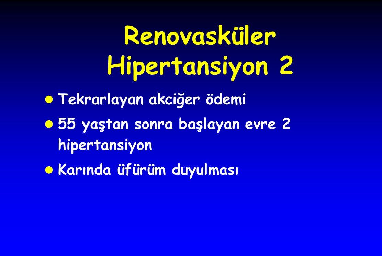 Renovasküler Hipertansiyon 2