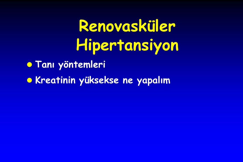Renovasküler Hipertansiyon