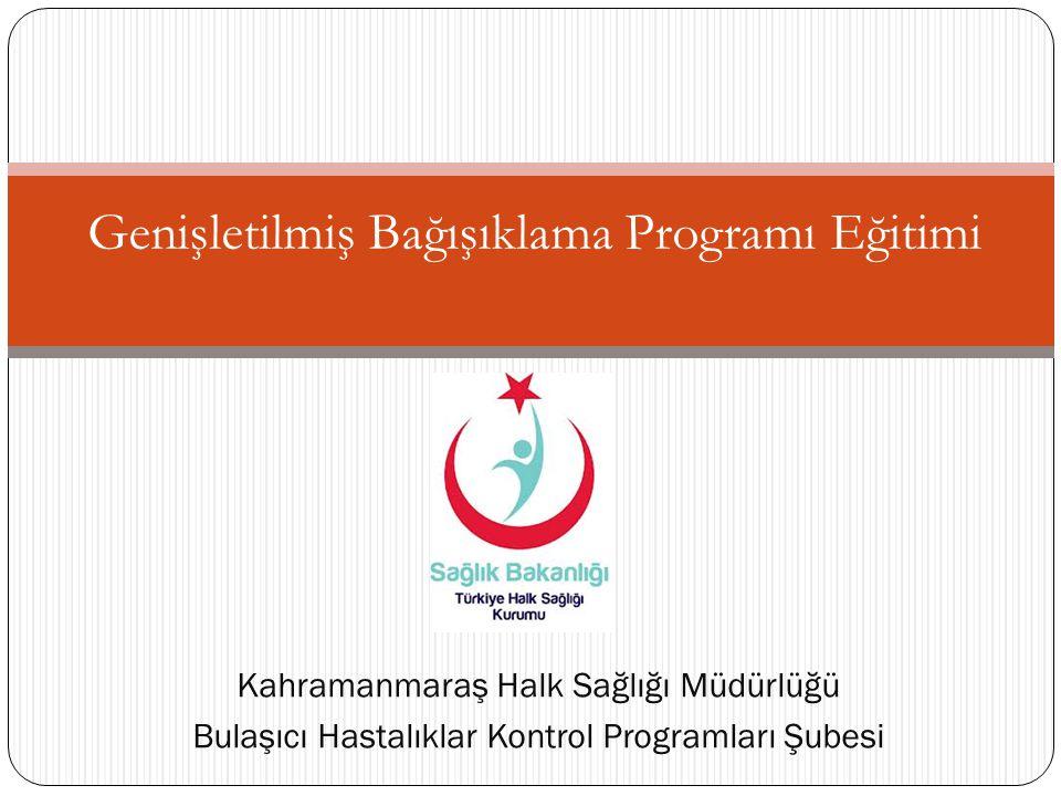 Genişletilmiş Bağışıklama Programı Eğitimi